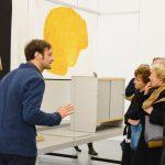 Les Amis du Frac Bretagne visite en avant-première l'exposition Ronan & Erwan Bouroullec, 24 mars 2016, Frac Bretagne, Rennes