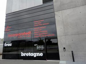 incorporated ! 5e édition des Ateliers de Rennes - biennale d'art contemporain au Frac Bretagne