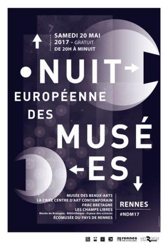 Visuel de la Nuit européenne des musées 2017