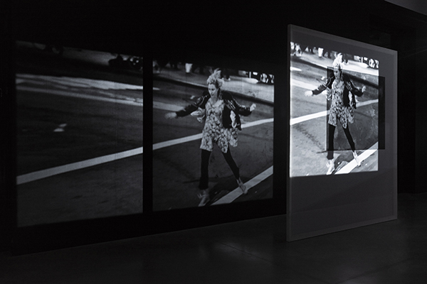 Cécile Bart, Silent Show, 2018. Exposition Cécile Bart Effet d'hiver, Frac Bretagne, Rennes, 21 décembre 2018-10 mars 2019 - Crédit photo : Marielys Lorthios