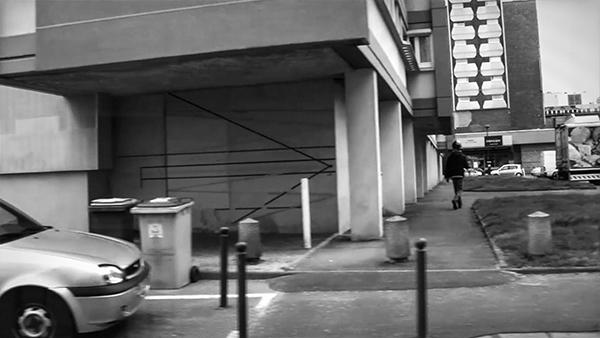 """Hervé Beurel Walking Around - une image pour une ville 2014 Vues de l'exposition """"Acquisitions 2013-2015, Fonds départemental d'art contemporain d'Ille-et-Vilaine"""" au Frac Bretagne du 07 décembre 2015 au 07 janvier 2016, Rennes, France. © photo : Hervé Beurel"""