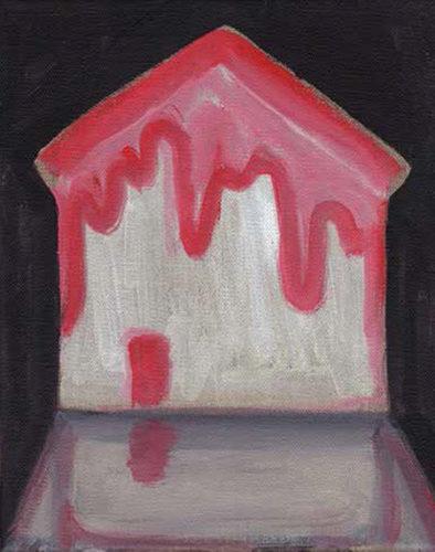 Guillaume Pinard, La maison rouge, 2016, de l'ensemble Histoire sans suite n°1, collection Frac Bretagne © ADAGP, Paris 2019 - Crédit photo Guillaume Pinard