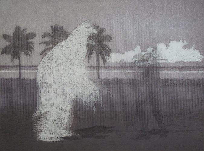 Antoine Dorotte, Fiji, 2011. © Fonds départemental d'art contemporain d'Ille-et-Vilaine, Crédit photo Emeric Ducreux