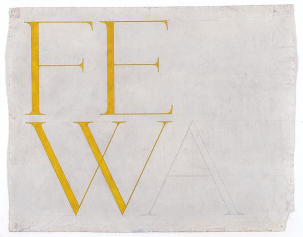 Franz Erhard Walther, FEW (Fewa), 1958, collection Frac Bretagne © Franz Erhard Walther