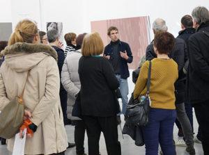 Visite commentée des expositions