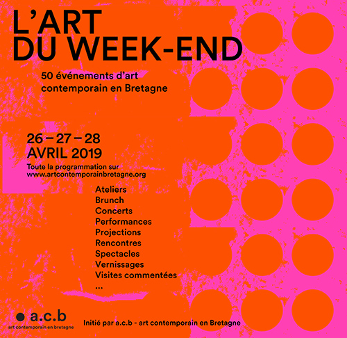 L'Art du week-end - 2019 © Art Contemporain en Bretagne