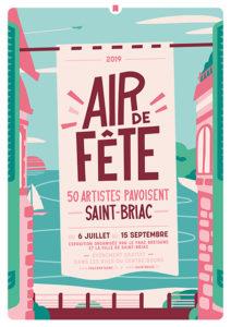 Affiche Air de fête Saint-Briac