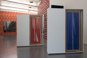 Yves Belorgey, Maria Nordman, vue de l'expo Collection. La composante Peintures. Frac Bretagne, Rennes, 2019 - Crédit photo : Marc Domage
