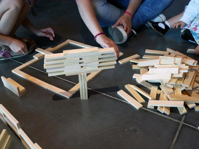 Atelier Expérimenter l'équilibre dans l'architecture, Frac Bretagne