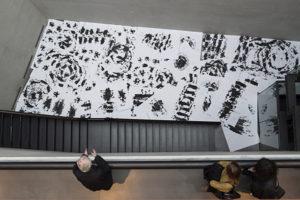 """Vue de l'exposition Marcel Dinahet """"Sous le vent"""" - Crédit photo : Marc Domage"""