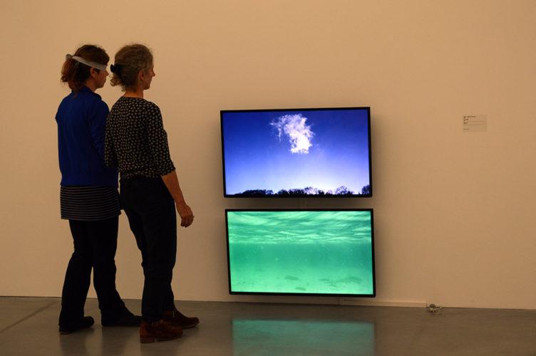 Balade sensorielle dans l'exposition Marcel Dinahet