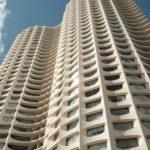 """Tours """"Les Horizons"""" à Rennes - Architecte: Georges Maillols Construction: 1970-1971"""
