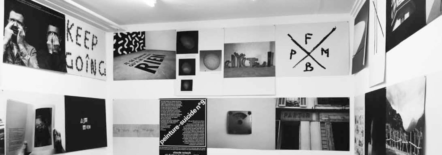 Ex-Pdf [EX.Portable Document Format] : Exposer les écritures exposées, vue de la Galerie Art & Essai, Université Rennes 2, 15 décembre 2016 - 16 février 2017 © The artists. Crédit photographique : John Cornu