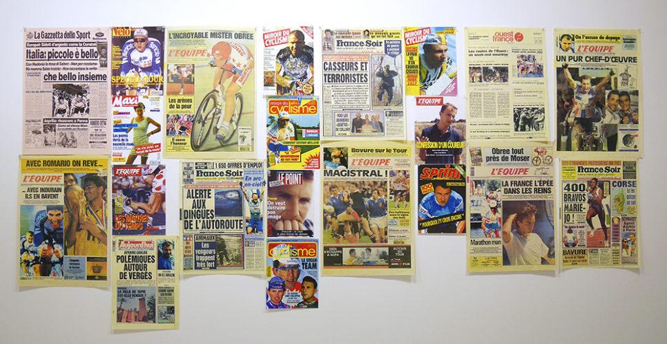 Pascal Rivet, Revue de presse 94, 1994. Collection Frac Bretagne © Pascal Rivet