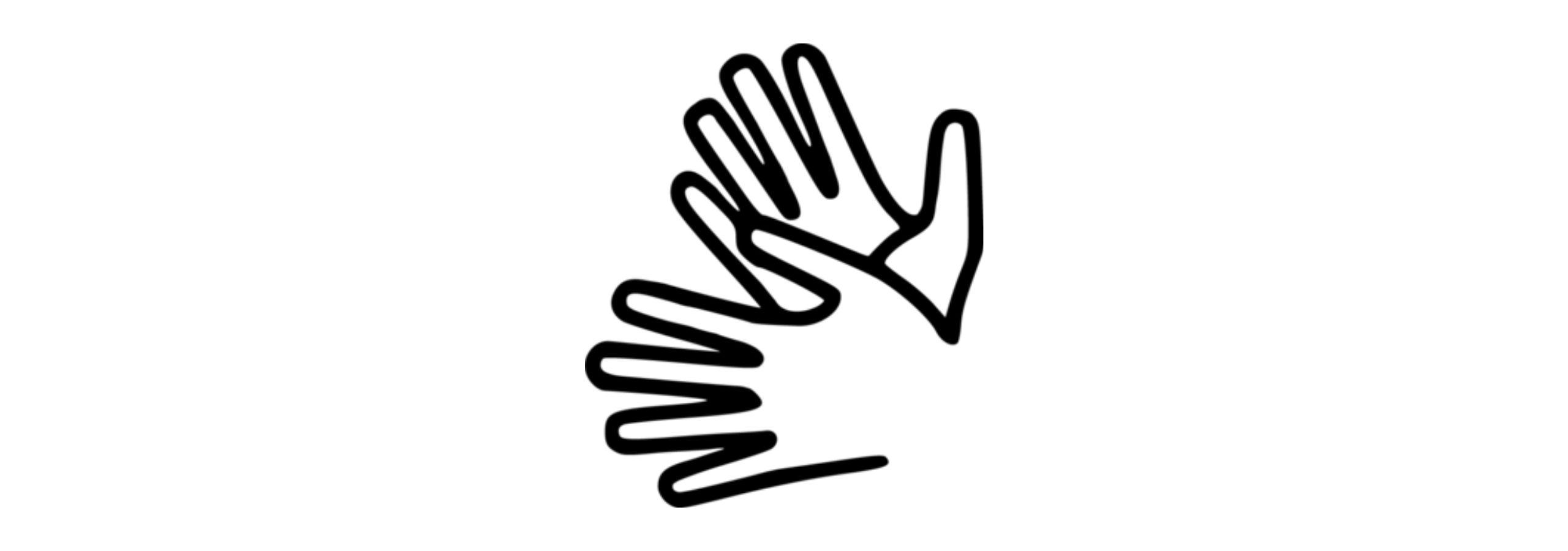 Pictogramme Langue des signes française LSF